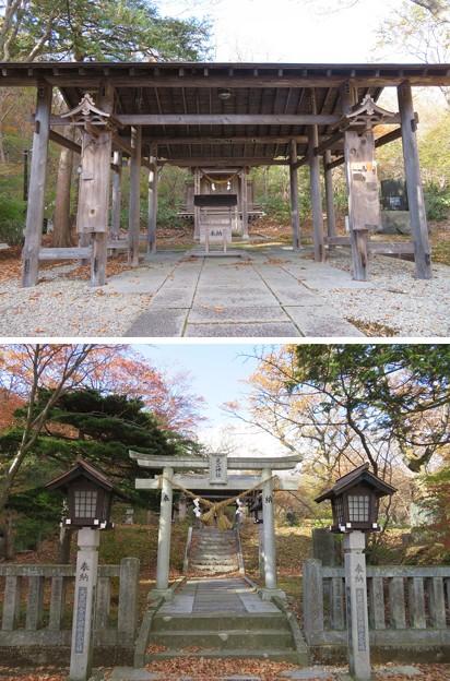Photos: 那須温泉神社(那須町)見立神社