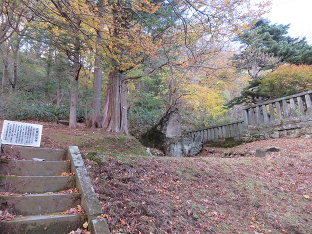 那須温泉神社(那須町)松尾芭蕉句碑
