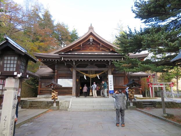 那須温泉神社(那須町)拝殿