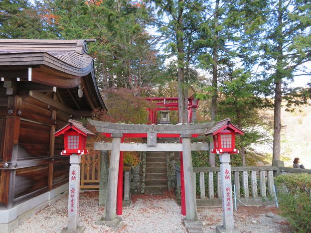那須温泉神社(那須町)九尾稲荷大明神