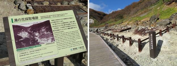 Photos: 殺生石園地(那須町)湯の花採取場跡