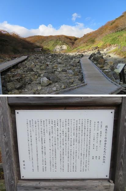 Photos: 殺生石園地(那須町)賽の河原