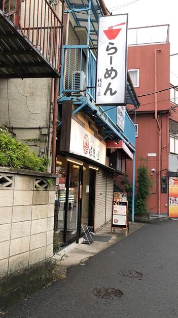 桔梗と空(足立区西新井)