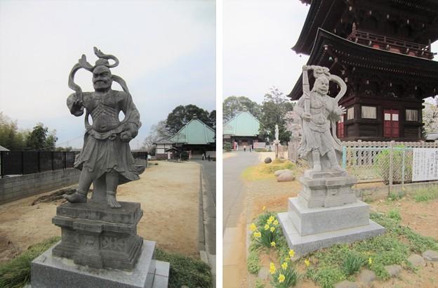 西福寺(川口市)仁王像