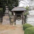 西福寺(川口市)荒神社・石灯籠