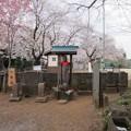 赤山日枝神社(川口市)八幡宮石祠
