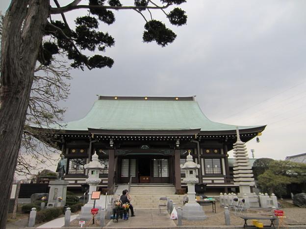 源長寺(川口市)本堂