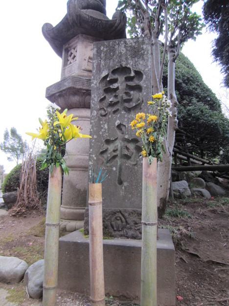 金剛寺(川口市)文政年間庚申板碑
