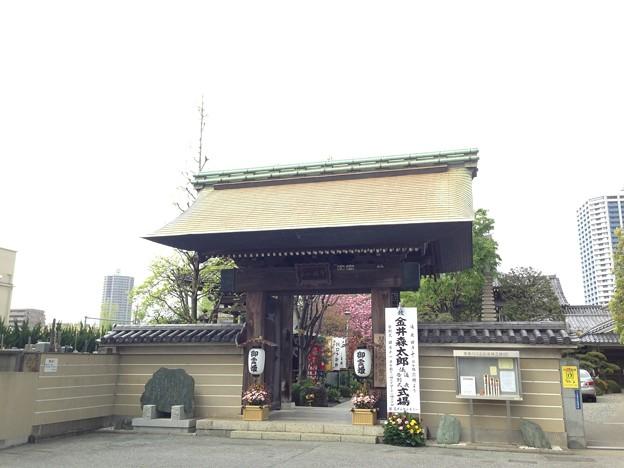 錫杖寺(川口市)山門