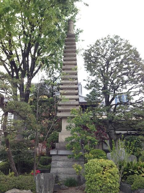 Photos: 錫杖寺(川口市)層塔
