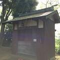 木曽呂の富士塚(川口市)御堂