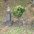 木曽呂の富士塚(川口市)石碑