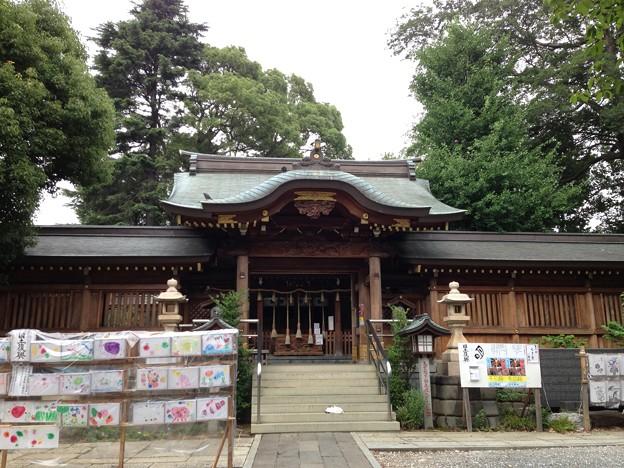 鳩ヶ谷氷川神社(川口市)中門