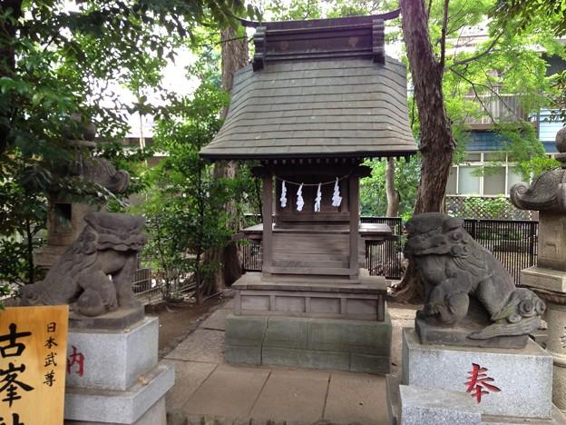鳩ヶ谷氷川神社(川口市)古峯社