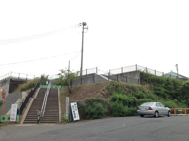 Photos: 13.07.17.善光寺(川口市)台地・荒川堤防