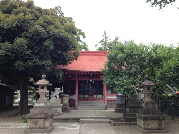 飯塚氷川神社(川口市)拝殿