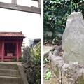 Photos: 飯塚氷川神社(川口市)板碑・御嶽社