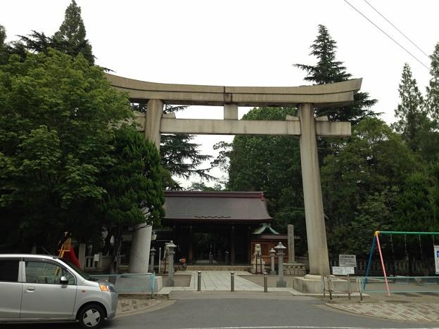 13.07.17.川口神社(埼玉県)大鳥居