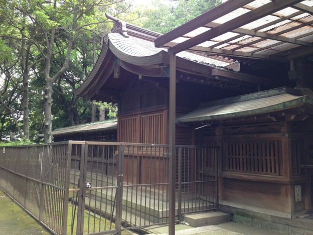 Photos: 川口神社(埼玉県)社殿