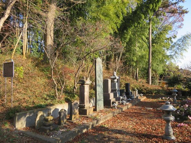 青鳥城(東松山市)鎌倉期板碑