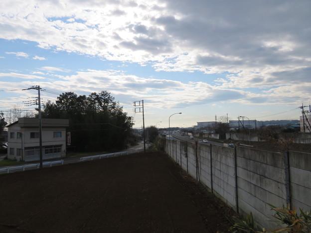 青鳥城(東松山市)三郭水堀跡