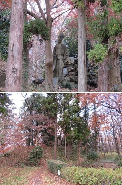 菅谷館(嵐山町)畠山重忠像