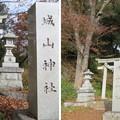 滝の城(所沢市)城山神社一の鳥居