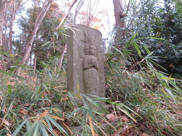 滝の城(所沢市)寛政年間庚申塔