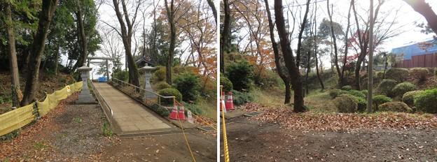 Photos: 滝の城(所沢市)内堀跡
