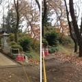 滝の城(所沢市)内堀跡