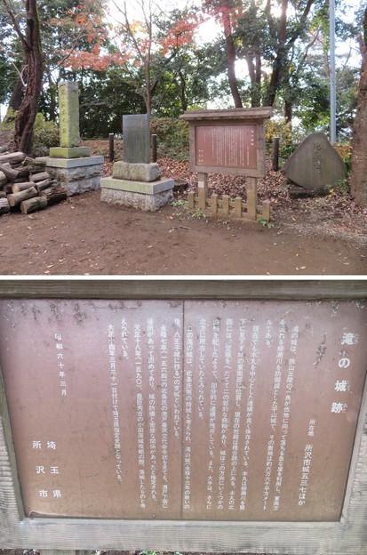 Photos: 滝の城(所沢市)
