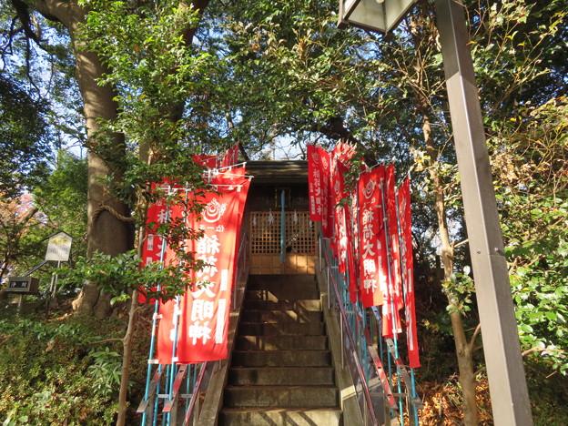 滝の城(所沢市)稲荷社