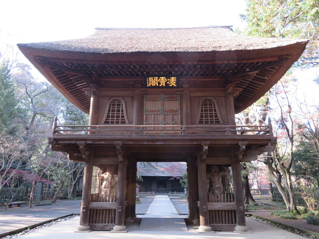 平林寺(新座市)山門