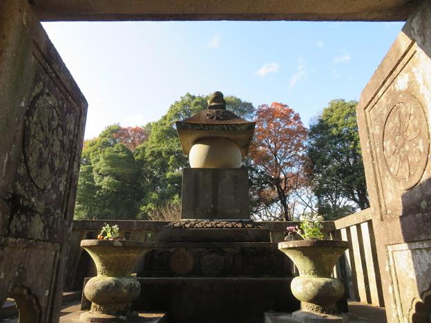 平林寺(新座市)松平信綱室墓