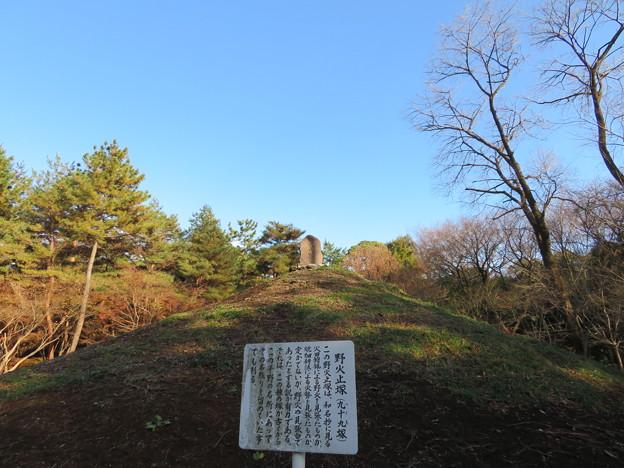 平林寺(新座市)野火止塚