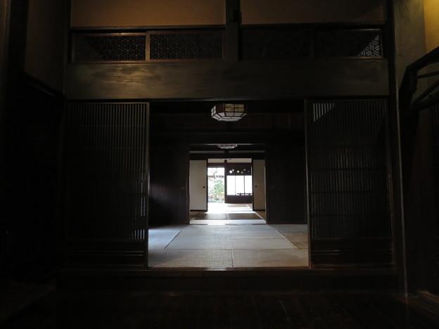 難波田城水堀跡(富士見市)難波田城公園古民家ゾーン