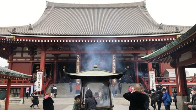 浅草寺観音堂(台東区)