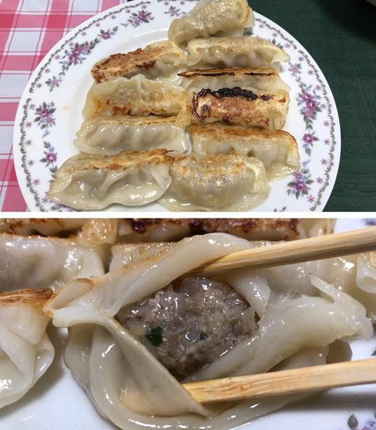 あぐー餃子(゜▽、゜)