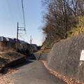 Photos: 久米川古戦場(東村山市)古戦場跡碑より南