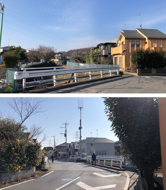 久米川古戦場(埼玉県所沢市)勝陣場橋