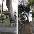 無縁仏(無名戦士墓。 多摩市関戸)
