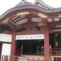 素盞雄神社(南千住6丁目)拝殿西側面