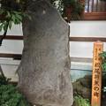 素盞雄神社(南千住6丁目)芭蕉句碑