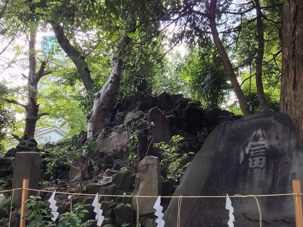 素盞雄神社(南千住6丁目)富士塚
