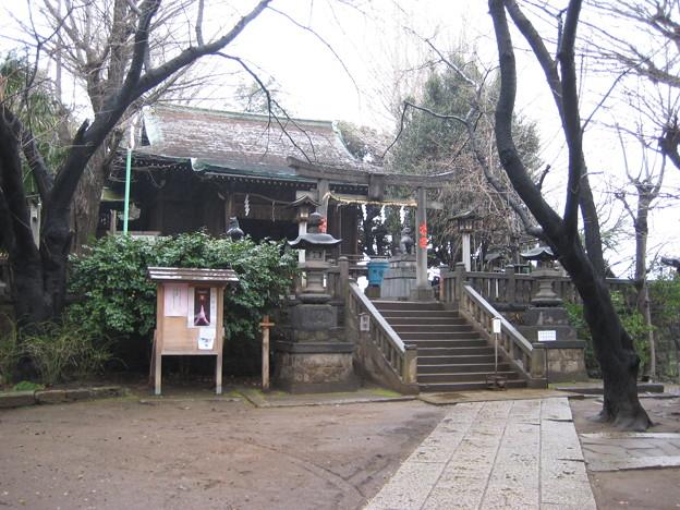 諏訪神社(荒川区西日暮里3丁目)