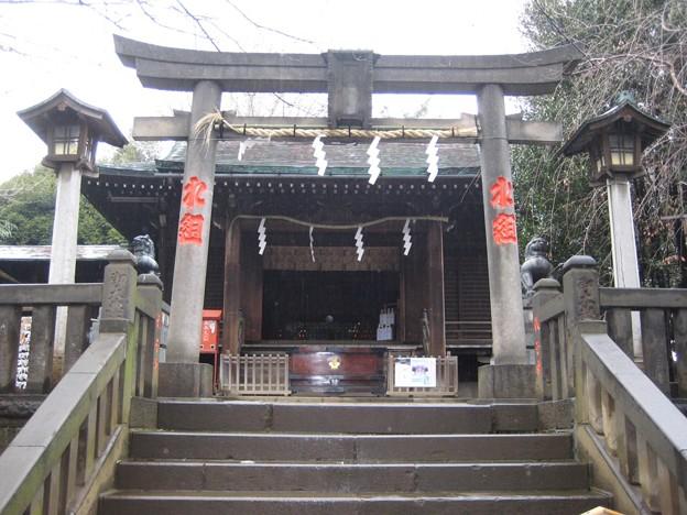 Photos: 諏訪神社(荒川区西日暮里3丁目)拝殿