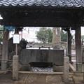 諏訪神社(荒川区西日暮里3丁目)手水舎