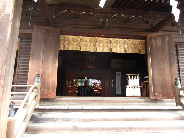 12.03.02.諏訪神社(西日暮里)拝殿