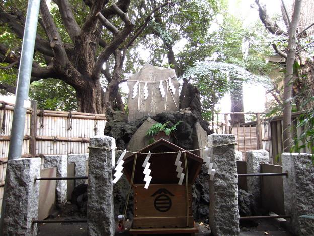 諏訪神社(西日暮里)御嶽社