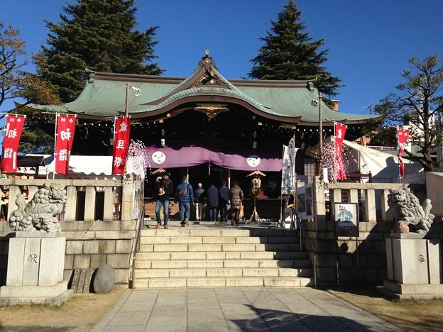 尾久八幡神社(荒川区西尾久)